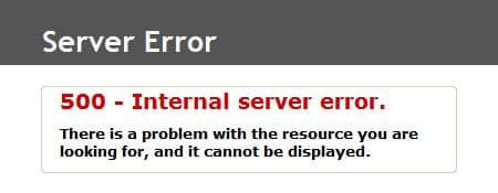 Een error 500 in WordPress.. wat nu?