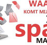 mail in de spam map