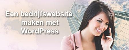 Een bedrijfswebsite maken in WordPress