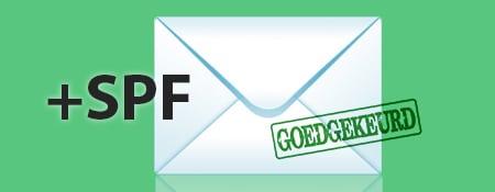 spf mail instellen