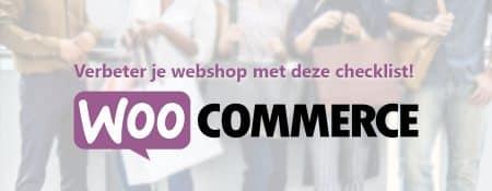 Verbeter je WooCommerce webshop met deze checklist