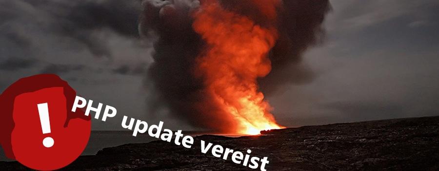 php update wordpress website